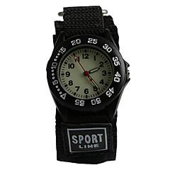 preiswerte Damenuhren-Armbanduhr Wasserdicht Stoff Band Freizeit / Modisch Schwarz / Blau / Ein Jahr / Tianqiu 377