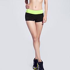 Mulheres Shorts de Corrida Secagem Rápida Respirável Compressão Confortável Shorts largos Calças para Ioga Exercício e Atividade Física