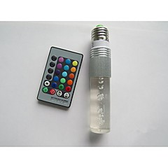 Χαμηλού Κόστους Λαμπτήρες LED-E26/E27 B22 LED Έξυπνες Λάμπες T 1 leds LED Υψηλης Ισχύος Τηλεχειριζόμενο RGB 100-210lm 2000-5000K AC 85-265V