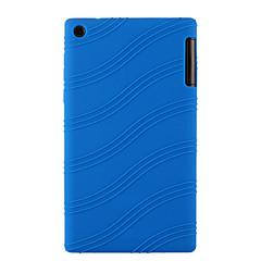 preiswerte Tablet-Hüllen-Hülle Für Lenovo IdeaPad / Lenovo Wasserfest / Hüllen mit Ständer / Weihnachten Rückseite Solide Weich Silikon für