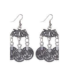 preiswerte Ohrringe-Damen Tropfen-Ohrringe Anhängerketten - versilbert Erklärung, Personalisiert, Klassisch Silber Für Party Normal