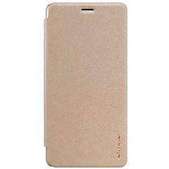 Mert OnePlus tok Flip Case Teljes védelem Case Egyszínű Kemény Műbőr mert OnePlus One Plus 3 One Plus X