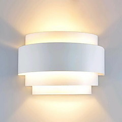 cheap Indoor Lights-Lightinthebox Modern / Contemporary Flush Mount wall Lights Pathway Metal Wall Light 110-120V / 220-240V 60W