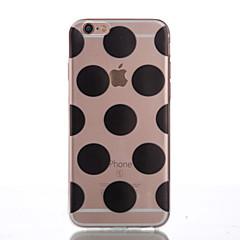 Недорогие Кейсы для iPhone 6 Plus-Кейс для Назначение Apple iPhone 6 Plus / iPhone 6 Кейс на заднюю панель Геометрический рисунок Мягкий ТПУ для iPhone 6s Plus / iPhone 6s / iPhone 6 Plus