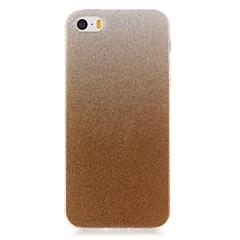 Varten iPhone 6 kotelo / iPhone 6 Plus kotelo IMD Etui Takakuori Etui Kiiltävä Pehmeä TPU AppleiPhone 6s Plus/6 Plus / iPhone 6s/6 /
