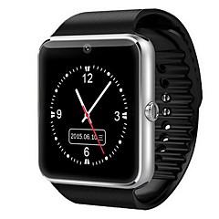 preiswerte Tolle Angebote auf Uhren-Herrn Smartwatch Digital Touchscreen Alarm Kalender Caucho Band digital Schwarz - Gold Silber Rot / Fernbedienungskontrolle / Schrittzähler / Fitness Tracker / Stopuhr
