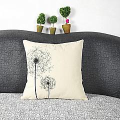 Cotton / Linen Pokrywa Pillow,Wzory graficzne Przypadkowy
