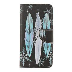 Для Кейс для iPhone 7 / Кейс для iPhone 6 / Кейс для iPhone 5 Бумажник для карт / Кошелек / со стендом / Флип / Рельефный / С узоромКейс
