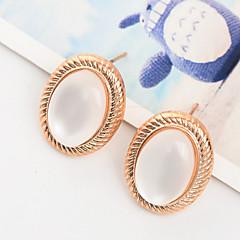 preiswerte Ohrringe-Damen Opal - vergoldet, Opal Modisch Gold Für Hochzeit Party