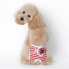 お買い得  犬用ウェア&アクセサリー-犬 パンツ 犬用ウェア セーラー ブラック レッド ブルー コットン コスチューム ペット用 男性用 女性用 カジュアル/普段着