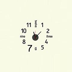 현대/현대 캐릭터 / 영감 / 웨딩 / 가족 / 친구 벽 시계,라운드 / 잡다한 것 플라스틱 / 기타 52cm x 50cm ( 20in x 20in ) 실내/야외 / 실내 시계