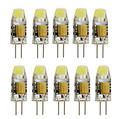 cheap LED Bulbs-10pcs 2W 350 lm G4 LED Bi-pin Lights T 1 leds High Power LED Decorative Warm White Cold White AC/DC 12 AC 12V