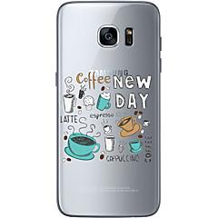 halpa Galaxy S6 Edge kotelot / kuoret-Etui Käyttötarkoitus Samsung Galaxy Samsung Galaxy S7 Edge Kuvio Takakuori Joulu Pehmeä TPU varten S7 edge S7 S6 edge plus S6 edge S6