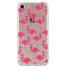Flamingos Pattern Material TPU Phone Case For iPhone 7 7 Plus 6s 6 Plus SE 5s 5