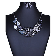 Women's Jewelry Set Necklace/Earrings Sexy Fashion European Euramerican Alloy Earrings Necklaces For Wedding Party Daily Casual Wedding