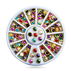 voordelige -1pcs Nail Art Decoration Rhinestone Pearls make-up Cosmetische Nail Art Design