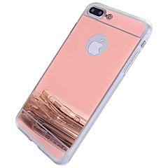 voordelige iPhone-hoesjes-hoesje Voor Apple iPhone 6 iPhone 7 Plus iPhone 7 Spiegel Achterkant Andere Hard PC voor iPhone 7 Plus iPhone 7 iPhone 6s Plus iPhone 6s