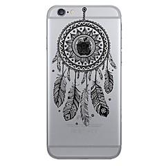 Til iPhone X iPhone 8 iPhone 7 iPhone 7 Plus iPhone 6 Etuier Mønster Bagcover Etui Drømme fanger Blødt TPU for Apple iPhone X iPhone 8