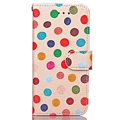 hoesje Voor Apple iPhone X iPhone 8 iPhone 8 Plus iPhone 7 iPhone 7 Plus iPhone 6 Portemonnee Kaarthouder Volledige behuizing Tegel Hard