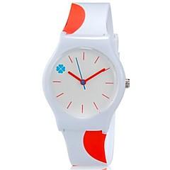 preiswerte Damenuhren-Armbanduhr Cool / Mehrfarbig Plastic Band Süßigkeit / Freizeit Orange