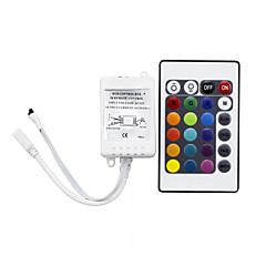 abordables Ofertas Especiales-1pc control remoto infrarrojo tira de luz accesorio accesorio 24keys ir control remoto plástico para rgb led tira de luz
