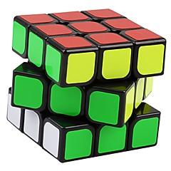 abordables Ofertas especiales-Cubo de rubik YongJun 3*3*3 Cubo velocidad suave Cubos mágicos rompecabezas del cubo Nivel profesional Velocidad Regalo Clásico Chica