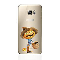 halpa Galaxy S6 Edge kotelot / kuoret-Etui Käyttötarkoitus Samsung Galaxy S7 edge S7 Ultraohut Takakuori Muuta Pehmeä TPU varten S7 edge S7 S6 edge plus S6 edge S6