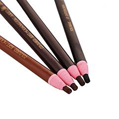 Lápices de Cejas Lápiz Brillo Gloss colorido / Larga Duración Negro / Gris / Marrón / Marrón Café Ojos 1 1