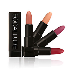 voordelige -Lipsticks Mat / Mineraal Kaki Langdurig / Waterbestendig / Naturel / Snel Drogend Mosterd 1 FOCALLURE