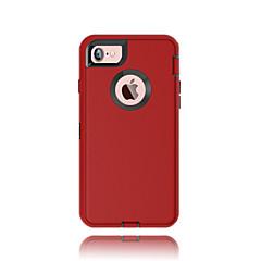 Назначение iPhone X iPhone 8 iPhone 7 iPhone 7 Plus Чехлы панели Вода / Грязь / Надежная защита от повреждений с окошком Чехол Кейс для