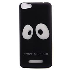 Para wiko lenny3 lenny2 capa do telefone capa grande olhos padrão pintado material tpu para wiko você sente que se sente lite ensolarado jerry