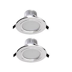 LED Χωνευτό Σποτ Θερμό Λευκό / Ψυχρό Λευκό LED 2 τμχ
