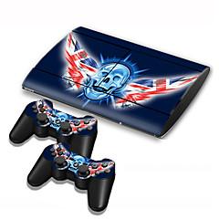 abordables Accesorios para PS3-B-SKIN USB Bolsos, Cajas y Cobertores Adhesivo - Sony PS3 Novedades Inalámbrico #