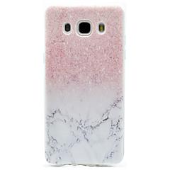 Case Kompatibilitás Samsung Galaxy J7 Prime J5 Prime Minta Hátlap Márvány Puha TPU mert J7 (2016) J7 Prime J5 (2016) J5 Prime J3 (2016)