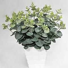 1 1 şube İpek Bitkiler Masaüstü Çiçeği Yapay Çiçekler 48CM