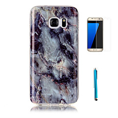 tok Για Samsung Galaxy S7 edge S7 Με σχέδια Πίσω Κάλυμμα Μάρμαρο Μαλακή TPU για S7 edge S7 S6 edge S6 S5 S4
