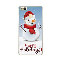 lauseketta tapauksessa takakansi tapauksessa joulu pehmeä tpu huawei huawei P9 / huawei P9 lite / huawei P8 / huawei P8 lite