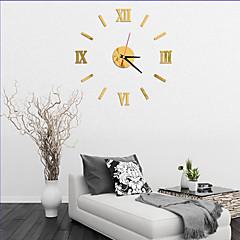preiswerte Uhren-Modern/Zeitgenössisch Büro/Geschäftlich Häuser Familie Schule / Abschluss Freunde Wanduhr,Neuheit Acryl Glas 40 Drinnen Uhr