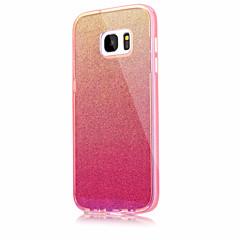 tanie Galaxy S6 Etui / Pokrowce-Kılıf Na Samsung Galaxy S7 edge S7 Odporne na wstrząsy Etui na tył Solid Color Twarde Akrylowy na S7 edge S7 S6