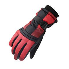 Rękawice narciarskie Męskie Damskie Full Finger Keep Warm Wodoodporny Wiatroodporna Narciarstwo Motocykl Zima