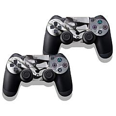 abordables Skins para PS4-PS4/Sony PS4 DF-0198 - Novedad - Policarbonato/Plástico Bolsos, Cajas y Cobertores -