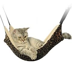 お買い得  猫ケア用品、グルーミング-ネコ ベッド ペット用 マット/パッド 折り畳み式 ヒョウ柄 ゼブラ柄 カジュアル/普段着 ブラック ホワイト ブラウン フリース