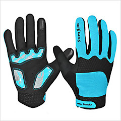 Sports Gloves Keep Warm Waterproof Quick Dry Wearable Breathable Wearproof Anti-skidding Protective Full-finger Gloves Spandex Silicone