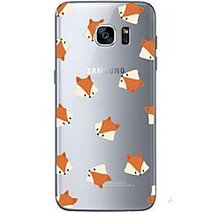 Για Εξαιρετικά λεπτή / Διαφανής / Με σχέδια tok Πίσω Κάλυμμα tok Ζώο Μαλακή TPU για Samsung S7 edge / S7 / S6 edge plus / S6 edge / S6