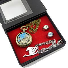 Zegar/zegarek / Więcej akcesoriów Zainspirowany przez Fairy Tail Lucy Heartfilia Anime Akcesoria do CosplayNaszyjniki / Zegar/zegarek /