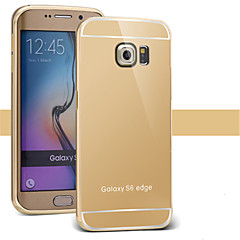 halpa Galaxy S3 kotelot / kuoret-Etui Käyttötarkoitus Samsung Galaxy Samsung Galaxy kotelo Pinnoitus Peili Takakuori Yhtenäinen väri PC varten S7 edge S7 S6 edge plus S6