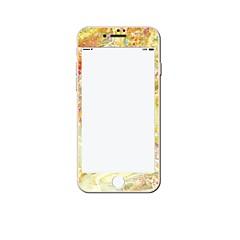 Недорогие Защитные пленки для iPhone 6s / 6-Защитная плёнка для экрана Apple для iPhone 6s iPhone 6 Закаленное стекло 1 ед. Защитная пленка для экрана Узор