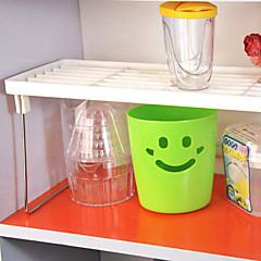 1 konyhai műanyag többfunkciós egymásra rakható összecsukható polc egyrétegű
