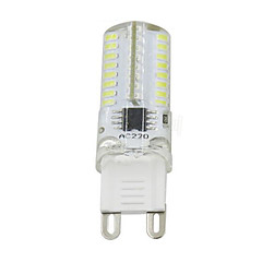 3W G9 LED Bi-pin Lights T 64 SMD 3014 250-350 lm Warm White Cold White K Dimmable AC110 AC220 V