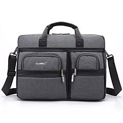 15.6 pulgadas multi-compartimiento de la bolsa de hombro del ordenador portátil con la correa del bolso del bolso de mano portátil para el